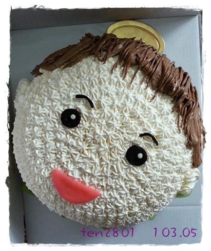 Q版小男生蛋糕