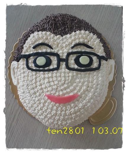 Q版客製阿爸蛋糕