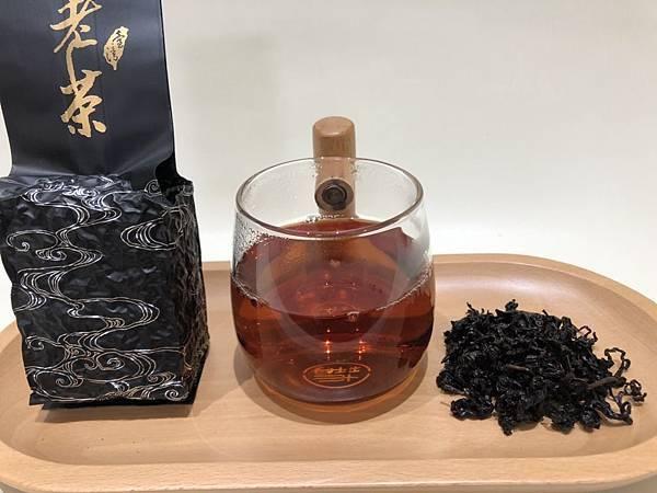 陳年老茶外觀