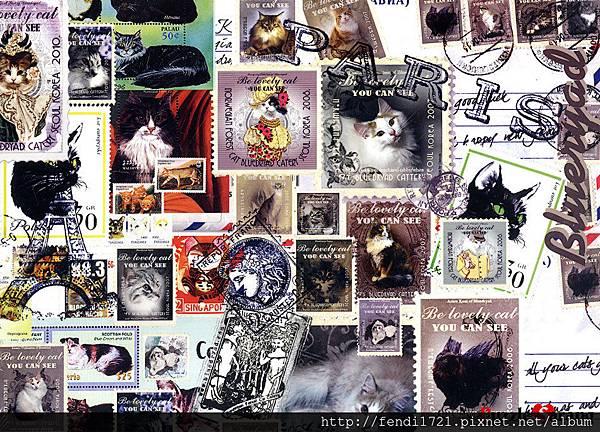 貓郵票CA5036