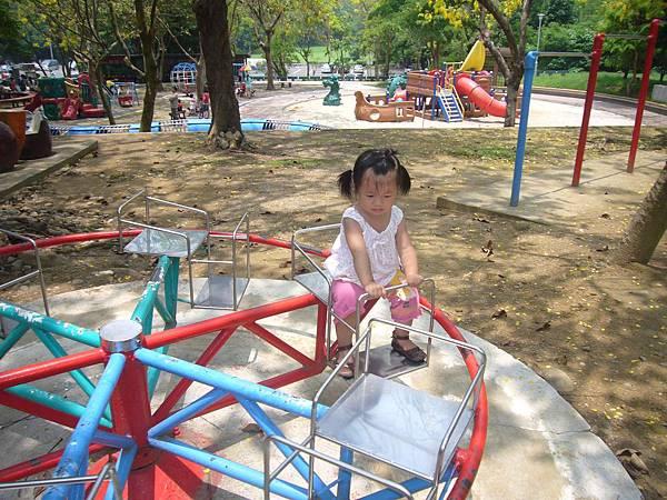 遊澄清湖遊樂場設施