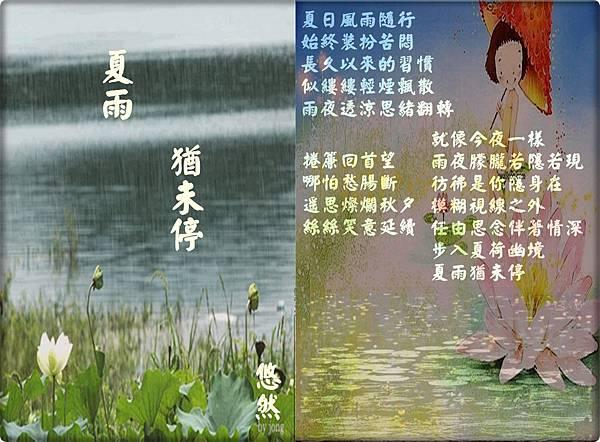 夏雨猶未停