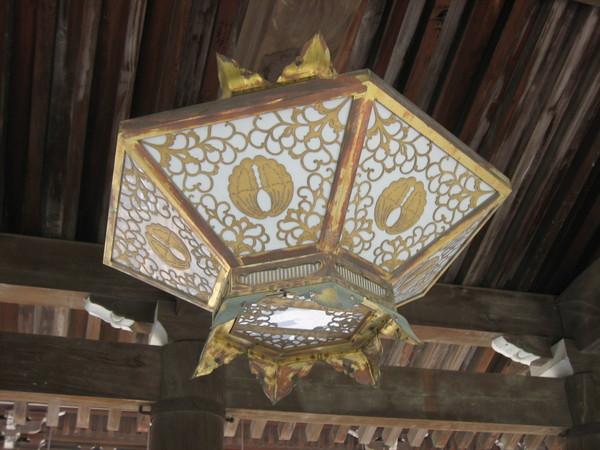 清水寺的吊燈