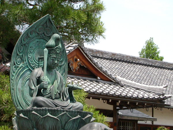 天竜寺外的弘源寺