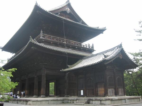 南禪寺巨大的三門