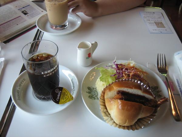 INODA'S COFFE裡的餐點
