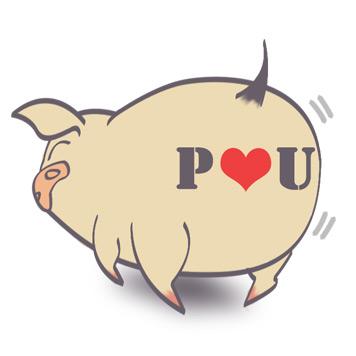 嘗試刺青的piggy