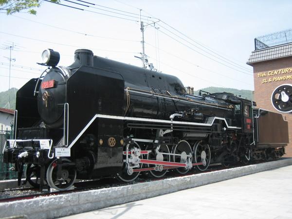 嵐山小火車車站前