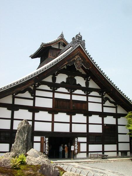 天竜寺的大方丈