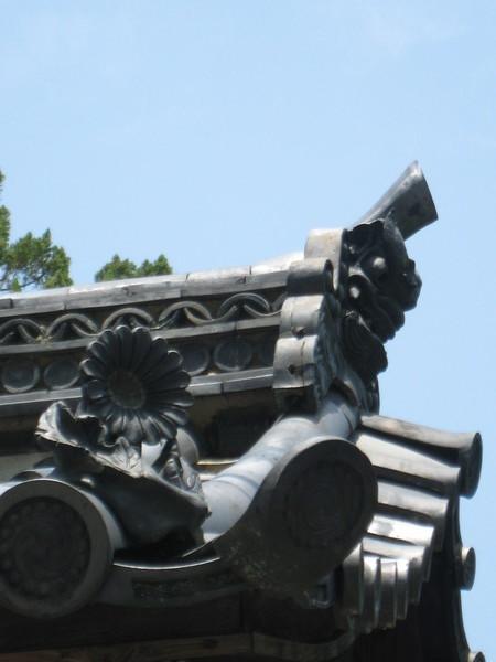 天竜寺屋簷