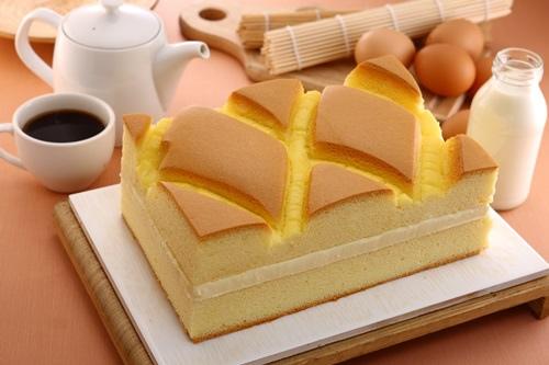 蓁古早味現烤蛋糕3