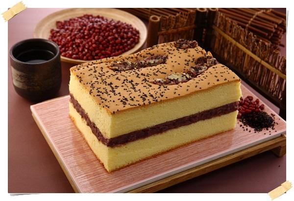 日式紅豆蛋糕
