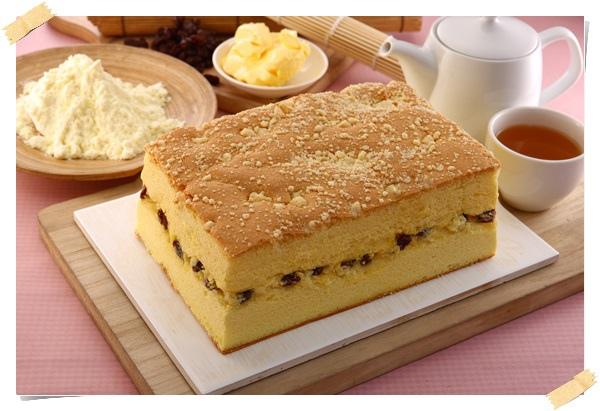 奶酥葡萄蛋糕