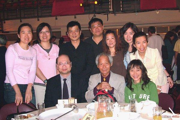 2007政大80校慶餐會