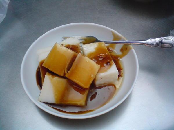 這個就是超好吃的油蔥粿