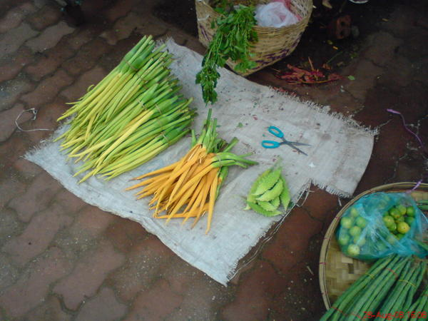 第一天下午在路邊看到的奇特蔬菜