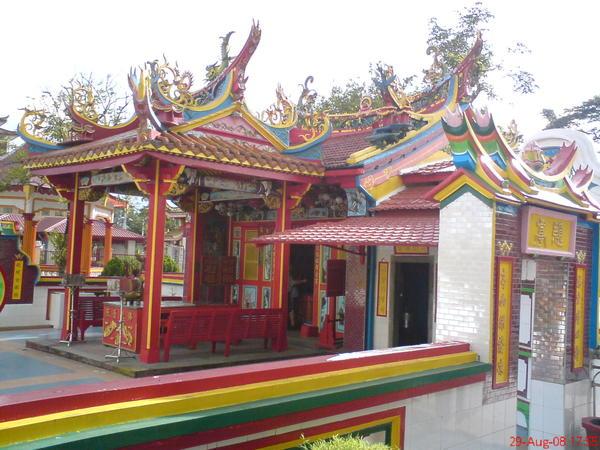 第二天下午來到供奉清水祖師的福山寺
