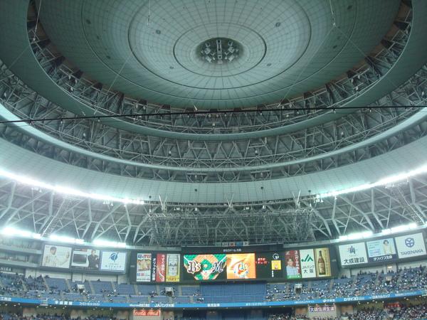 巨蛋的屋頂