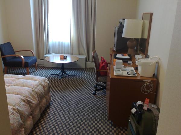 Miyako hotel的房間很大吧!