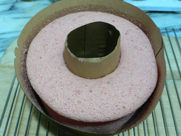 櫻花戚風蛋糕