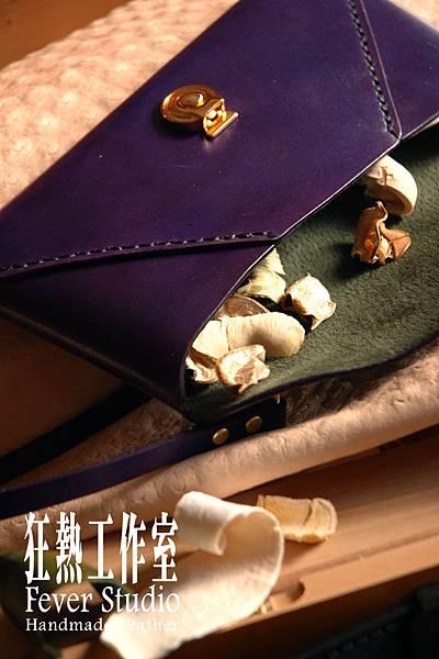 皇家深紫信封包01