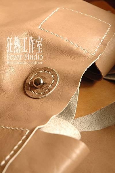 裸色個性大提袋01