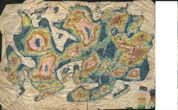 寶寶世界地圖