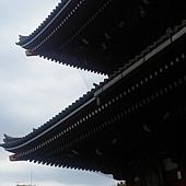 淺草寺看晴空塔