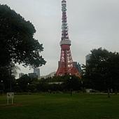 芝公園南側拍鐵塔2
