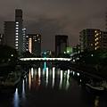 月島橋夜景
