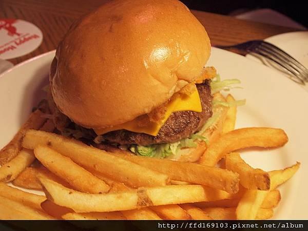 洋蔥花球漢堡
