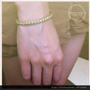 荷葉邊手環