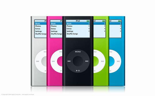iPod nano 。