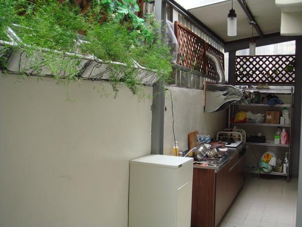 陽光透進廚房1