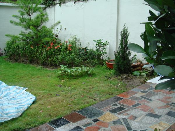 庭院大理石另一角落