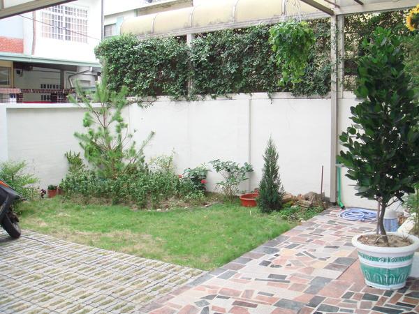 已經舖好的庭院大理石3