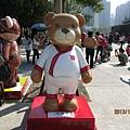 室外泰迪熊27.JPG