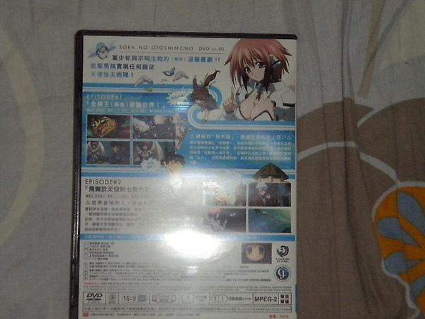 天降之物-DVD背面