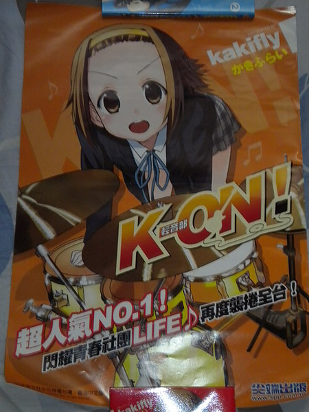 K-ON!-宣傳海報