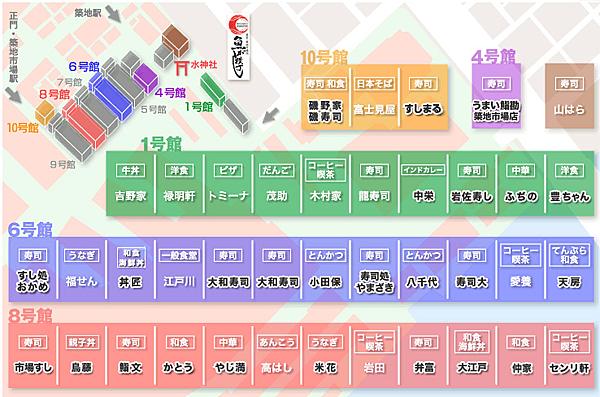場內市場地圖
