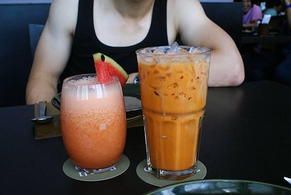 綜合果汁&泰式奶茶