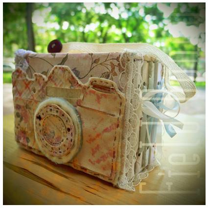 相機身藏小紙袋