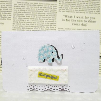 愉悅的小象-1