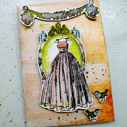 婚禮的祝福卡片-1