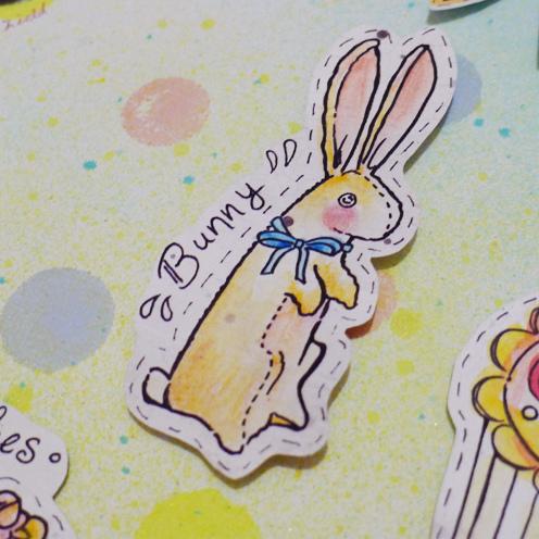 兔子掛畫-4