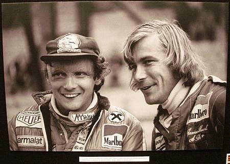 Niki Lauda & James Hunt