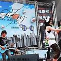 2010/05/07(五)   2010臺灣青年音像創作聯展--青年金雄開幕(高雄電影圖書館前廣場)