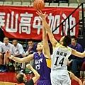 男子組季軍戰,泰山高中vs.南湖高中
