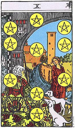 錢幣10 TEN OF PENTACLES