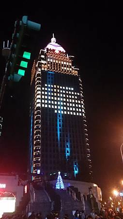 2014台北101跨年煙火1